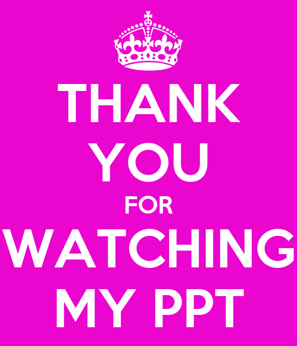 thank you ppt