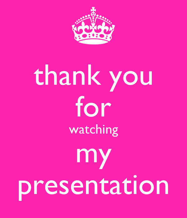 thank you for watching my presentation Poster | tahmima ...
