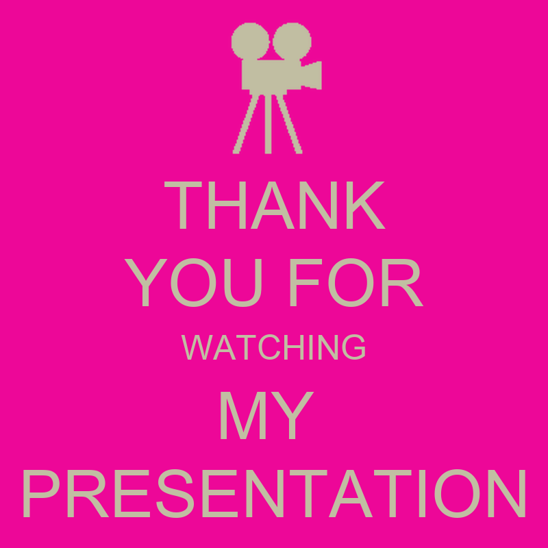 THANK YOU FOR WATCHING MY PRESENTATION Poster | Angel ...