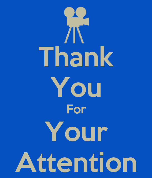 Thank You For Your Attention Poster | Thu Yen Nguyen ...