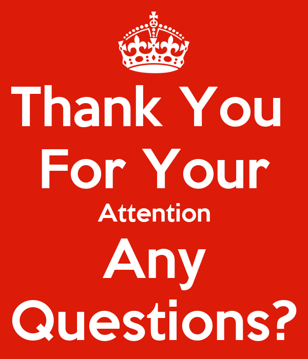 Thanks for Your AttentionThank You For Your Attention Animation
