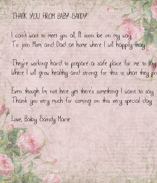 can wait to meet you baby poems