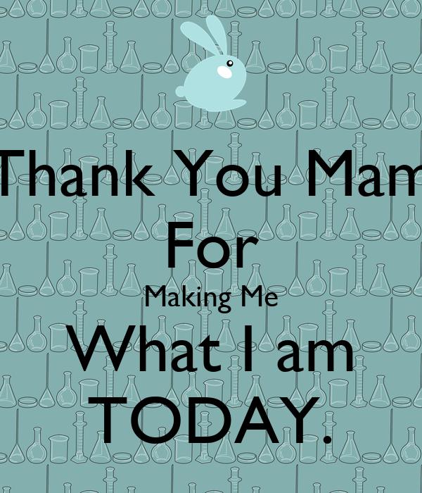 Thank you mam