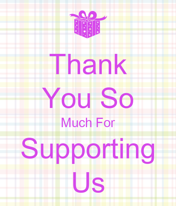 Thank You So Much For Supporting Us Poster | RAHUL | Keep ...