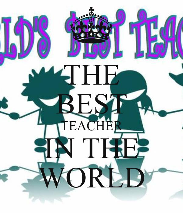 Descriptive Essay: The Best Teacher I Have Ever Had