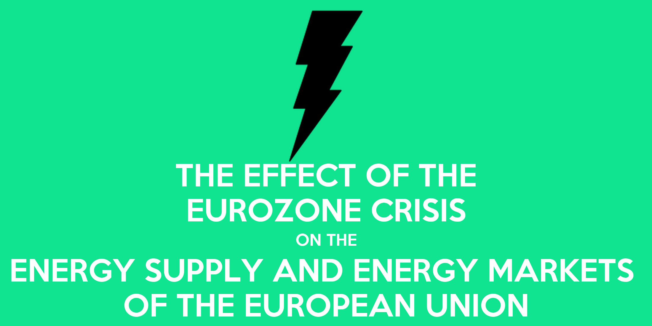 effects of energy crisis essays Energy is the most important requirement for economic development and social world's largest collection of essays short essay on the energy crisis in the.
