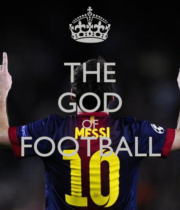 THE GOD OF FOOTBALL Poster | MatteoWloski
