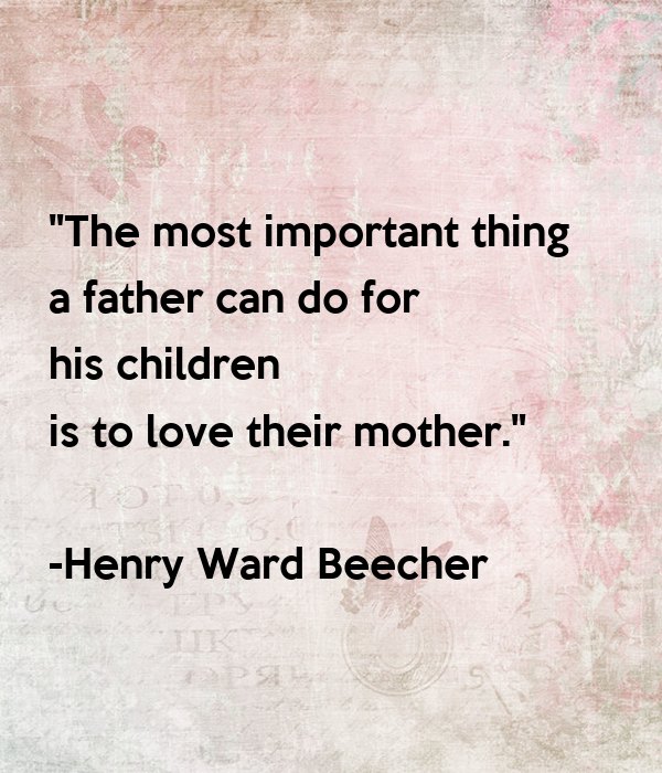 The Importance of a Father's Love