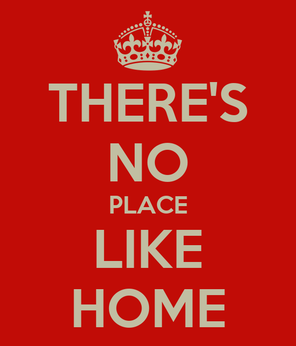 THERE'S NO PLACE LIKE HOME - KEEP CALM AND CARRY ON Image ...