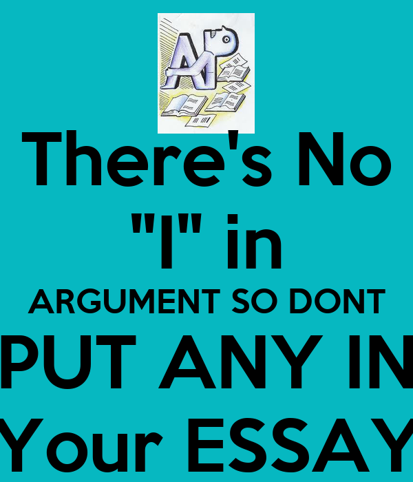 How to include your background in an argumentative essay