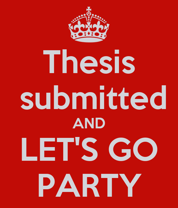 Thesis submitted