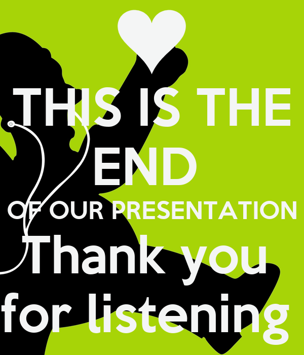 how to open a presentation thank you for