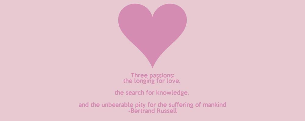 Three passions essay russell