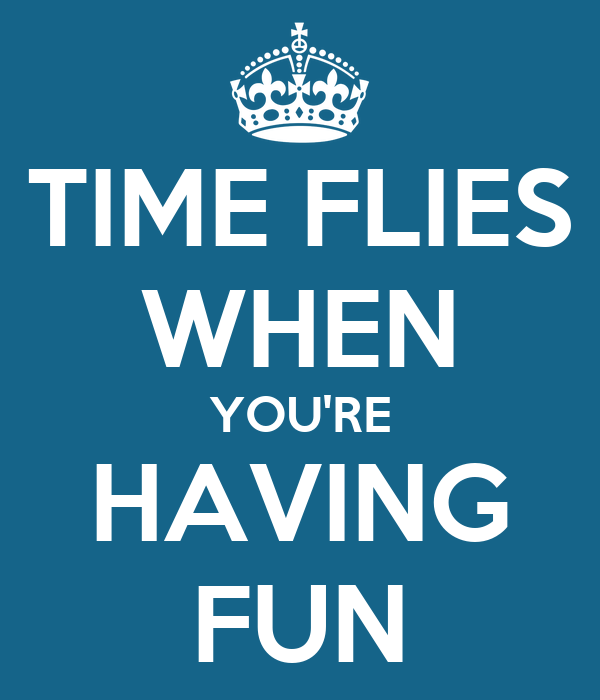 Time Flies When You Re Having Fun Quote