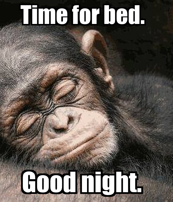 Time for bed good night poster bonika keep calm o matic for Best time of year for mattress sales