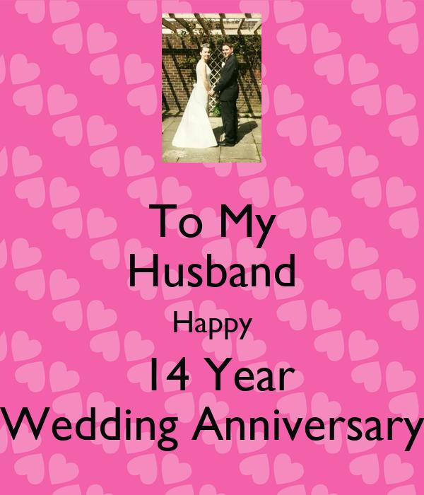 To my husband happy year wedding anniversary poster