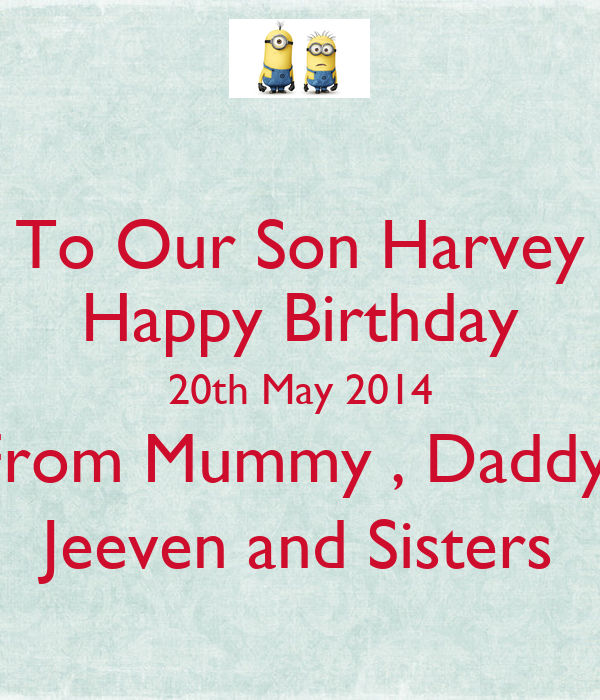 Pictures of Happy 20th Birthday Son Quotes - #rock-cafe