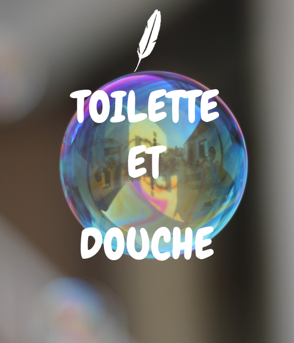 Toilette et douche poster love keep calm o matic - Decoration douche et toilette ...