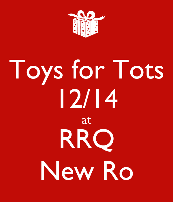 Toys For Tots Slogan : Toys for tots at rrq new ro poster jean keep