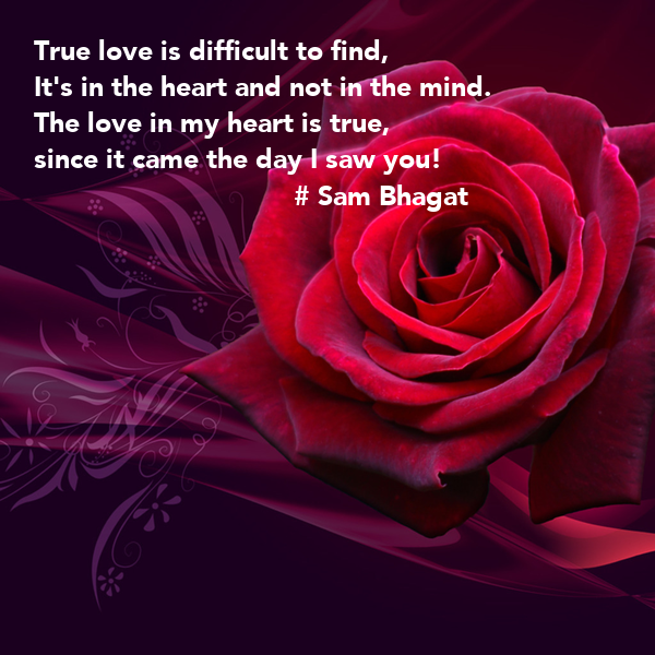 True love isn't easy and easy love isn't true