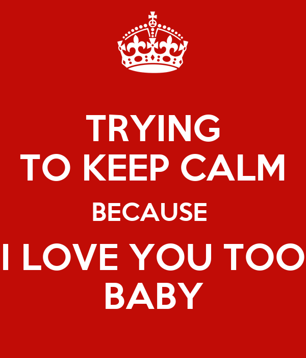 I Love You Too Baby Pic Wallpaper sportstle
