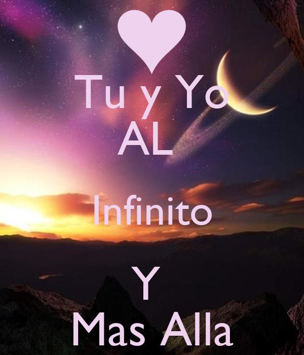 tu y yo al infinito y mas alla poster kishi keep calm