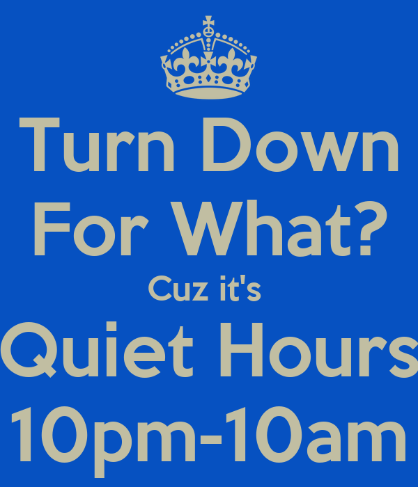 how to turn off quiet hours