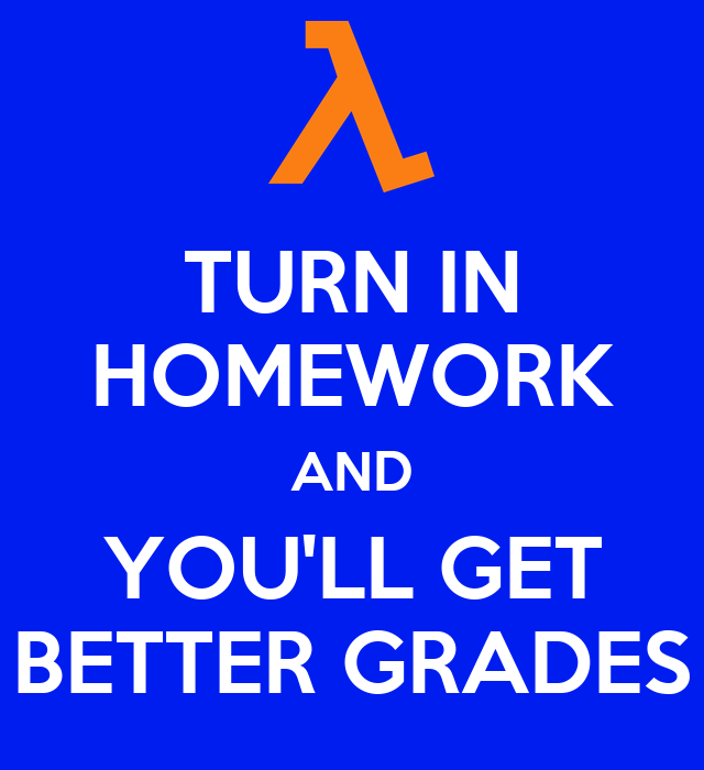 Homework helps you get better grades