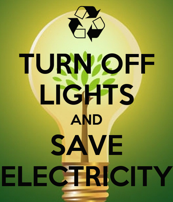 Turn off lights and save electricity poster lucy keep for Best place to buy posters in store