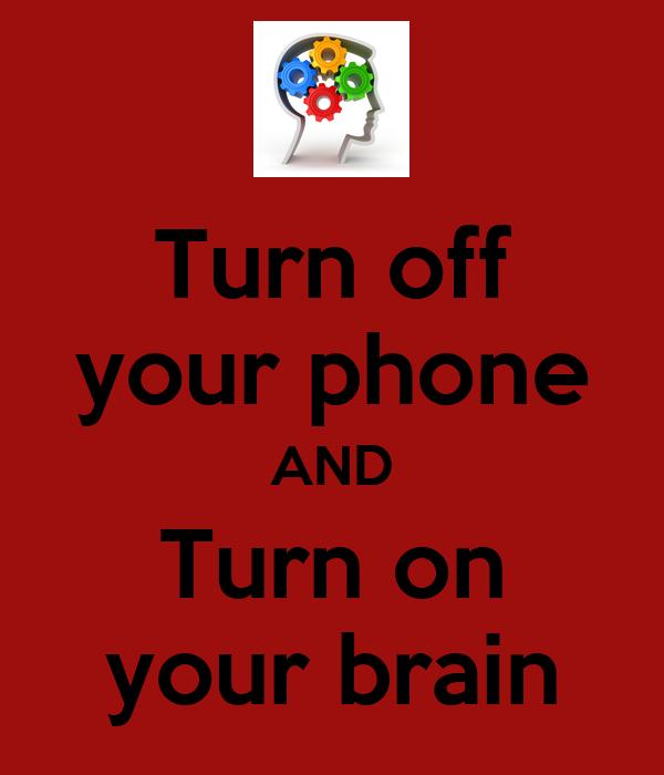turn off phone