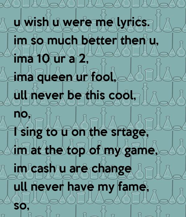 Im a fool lyrics