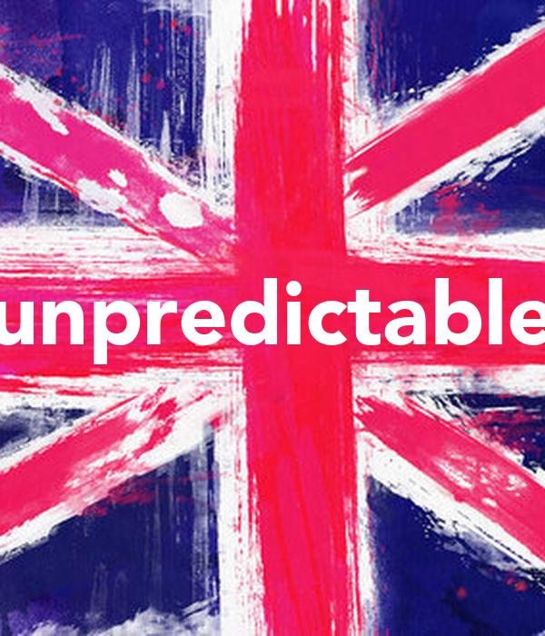 unpredictable Poster | Lana | Keep Calm-o-Matic