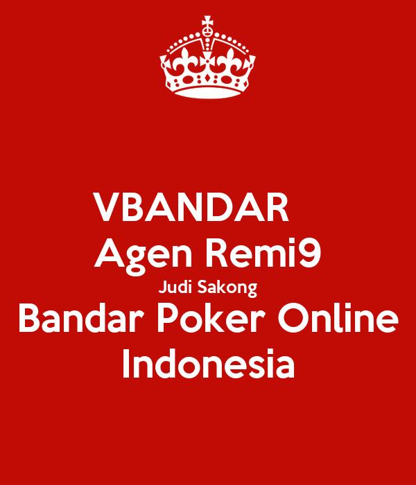 Vbandar Agen Remi9 Judi Sakong Bandar Poker Online Indonesia Poster Dewialshita Keep Calm O Matic