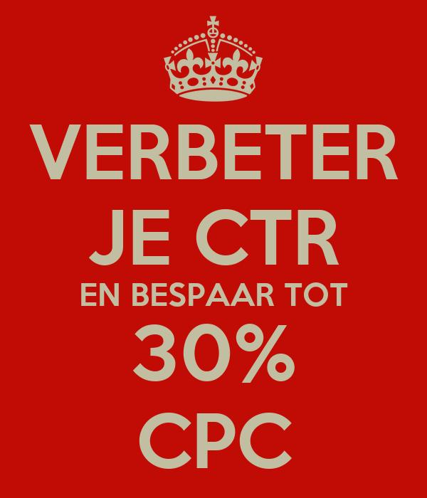 Verbeter je ctr en bespaar tot 30 cpc keep calm and carry on image generator - Verbeter je kelder ...