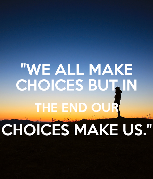 the choices that we make have 6 factors that influence our food choices by michael brent this is especially true when it comes to the food choices people make, which are are influenced by a wide variety of internal and external factors that may actually have little to do with the food itself.