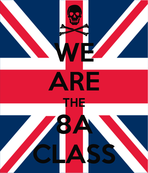 we are the 8a class poster uehx keep calm o matic