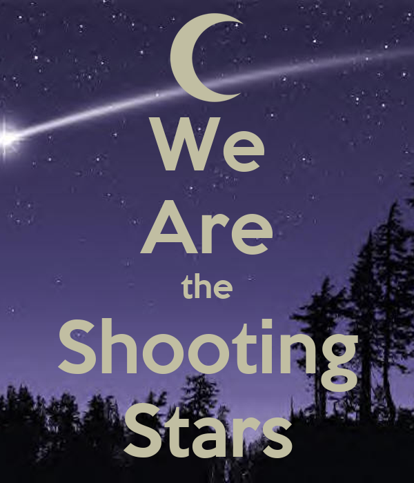 Colorado Shooting Stars: We Are The Shooting Stars Poster