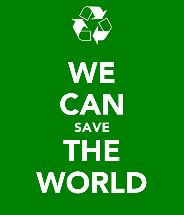 Save the world essay