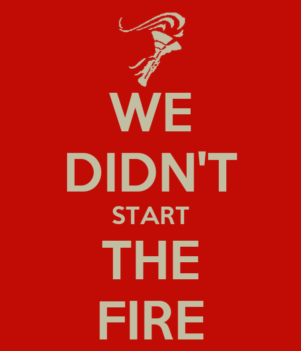 we didnt start the fire Patty reggear december lesson tah we didn't start the fire lesson plan grade level: 8th grade idaho state standard: middle school 47901c cultural and social development essential question: history is not deadwhat can we learn about our.