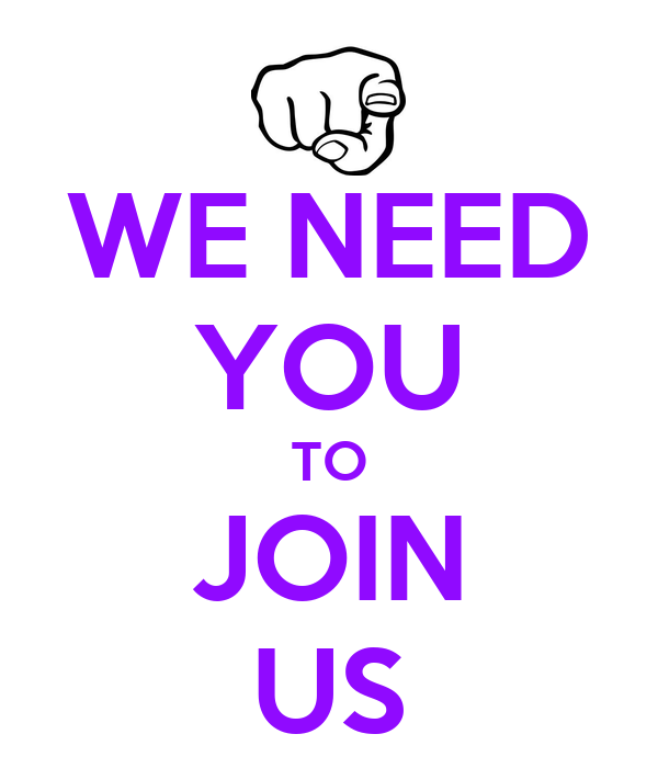 We Need You To Join Us Poster Tim Watson Keep Calm O Matic