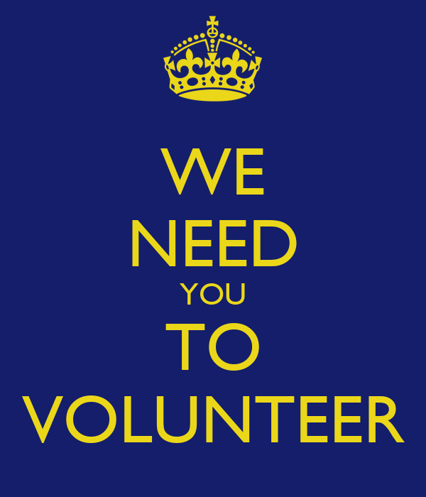 i want you to volunteer - photo #12