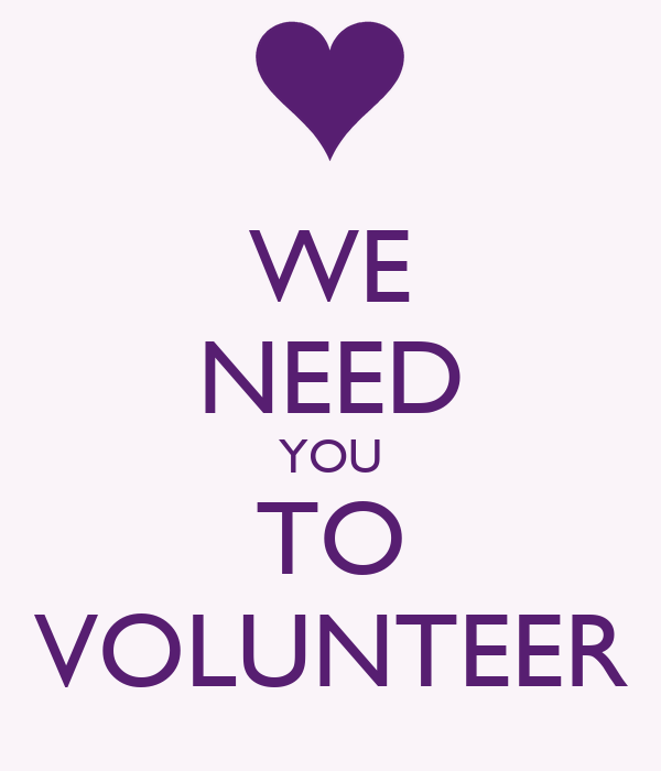 i want you to volunteer - photo #13