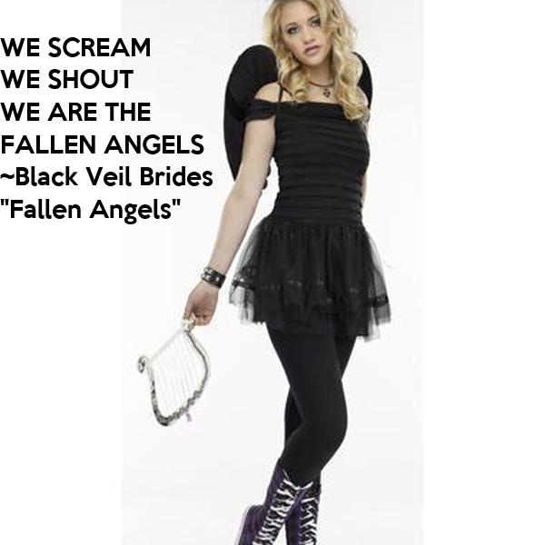 WE SCREAM WE SHOUT WE ARE THE FALLEN ANGELS ~Black Veil