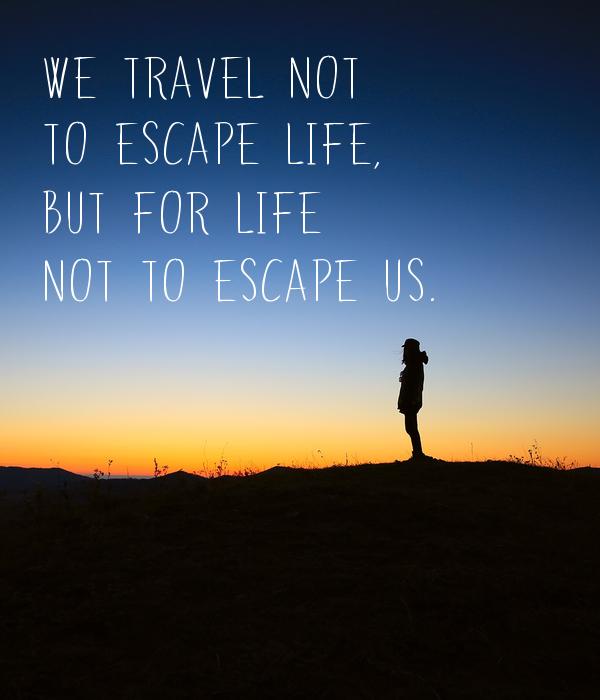 Waarom we reizen...