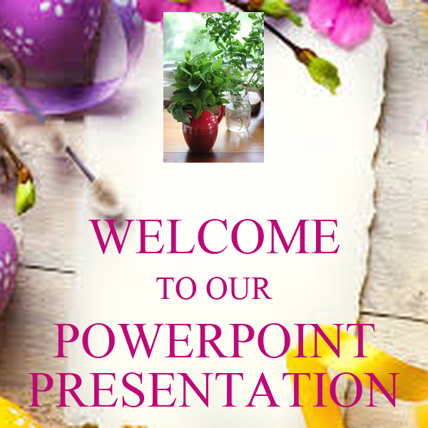 WELCOME TO OUR POWERPOINT PRESENTATION Poster