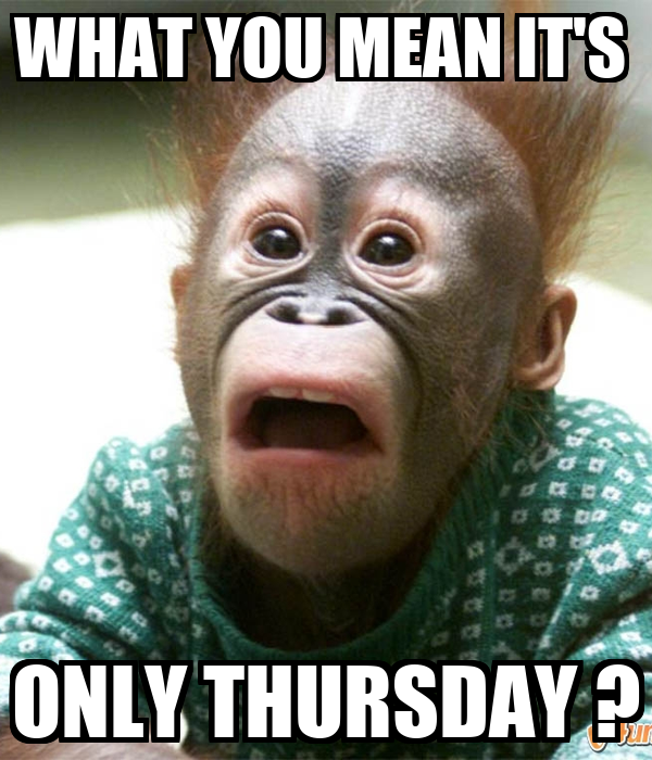 Its Only Thursday Quotes. QuotesGram Its Only Thursday Meme