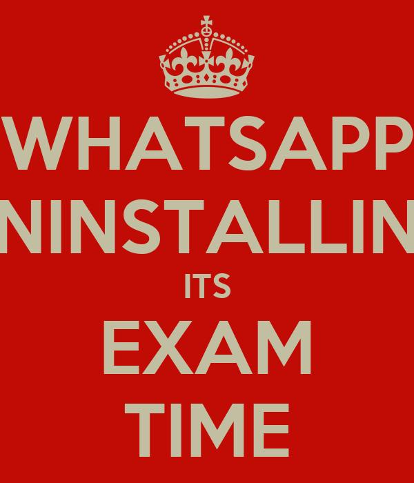 Exam Time Pics For Whatsapp Status