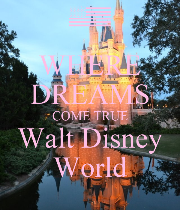 the gallery for gt walt disney world where dreams come