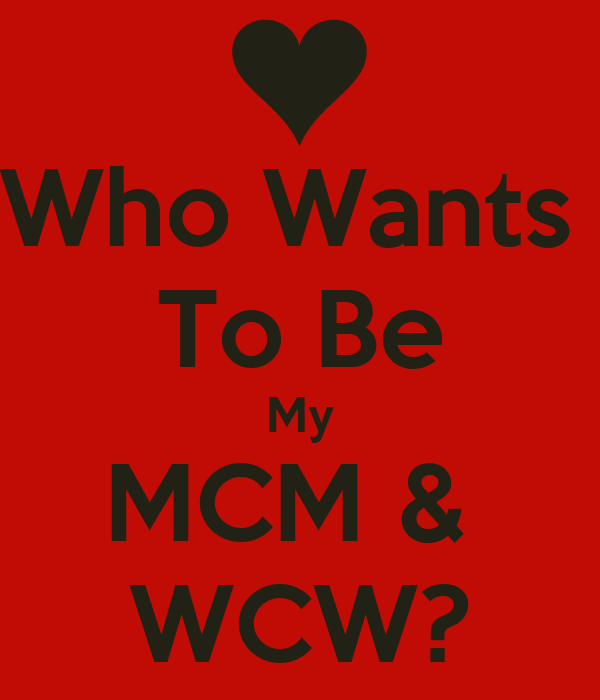 Who Wants To Be My MCM & WCW? Poster | Lisa | Keep Calm-o-Matic