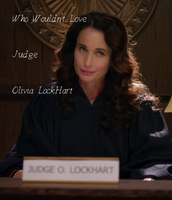 Who Wouldn't Love Judge Olivia LockHart Poster | katieshelby2 | Keep Calm-o-Matic